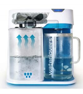 Betriebsprinzip des Wasserbrenners MKII Waterlovers