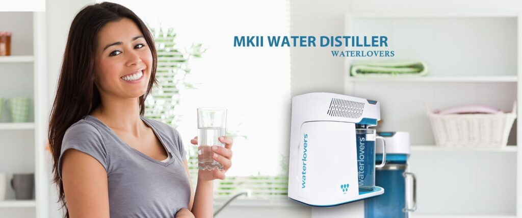 MKII Water distiller Waterlovers
